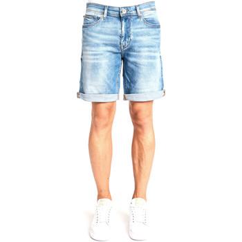 Textil Homem Shorts / Bermudas Gaudi 111GU26038 Azul