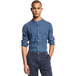 Textil Homem Camisas mangas comprida Gaudi 111GU45006 Azul
