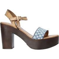 Sapatos Mulher Sandálias Alviero Martini E112 626A Azul
