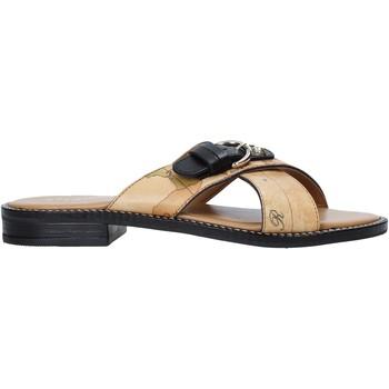 Sapatos Mulher Chinelos Alviero Martini E085 578A Castanho