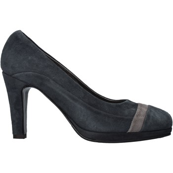 Sapatos Mulher Escarpim Confort 3660 Azul