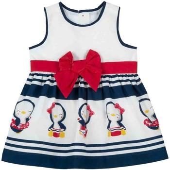 Textil Rapariga Vestidos curtos Chicco 09003809000000 Branco