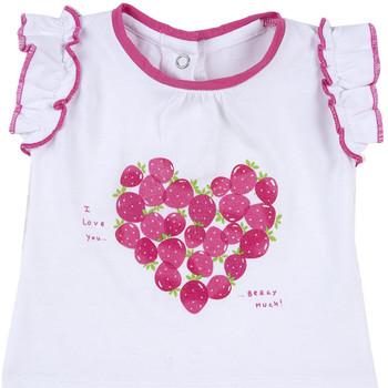 Textil Rapariga T-Shirt mangas curtas Chicco 09067088000000 Branco
