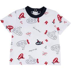 Textil Criança T-Shirt mangas curtas Chicco 09067163000000 Branco