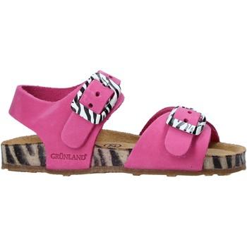 Sapatos Criança Sandálias Grunland SB1648 Rosa