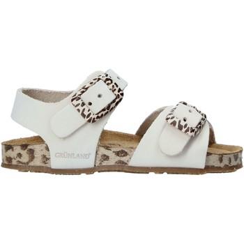 Sapatos Criança Sandálias Grunland SB1648 Bege