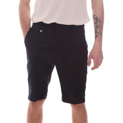 Textil Homem Shorts / Bermudas Antony Morato MMSH00169 FA400060 Azul