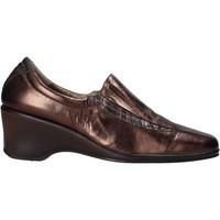 Sapatos Mulher Mocassins Confort 6309 Castanho