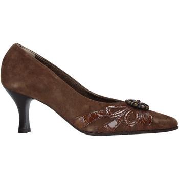 Sapatos Mulher Escarpim Confort 6260 Castanho