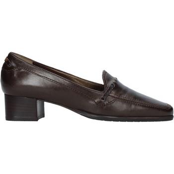 Sapatos Mulher Mocassins Confort 6395 Castanho