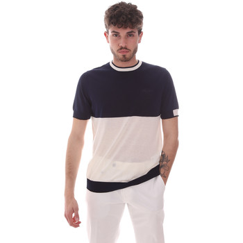 Textil Homem T-Shirt mangas curtas Antony Morato MMSW01166 YA100062 Azul