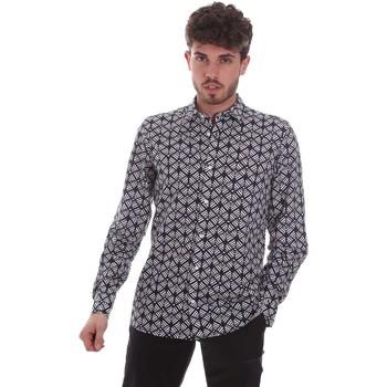 Textil Homem Camisas mangas comprida Antony Morato MMSL00614 FA430480 Preto