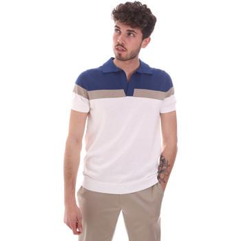 Textil Homem Polos mangas curta Antony Morato MMSW01181 YA100063 Branco