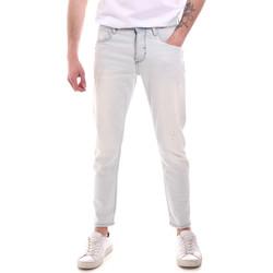 Textil Homem Calças de ganga slim Antony Morato MMDT00251 FA750302 Azul