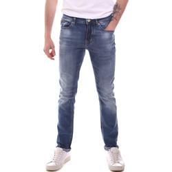 Textil Homem Calças de ganga slim Gaudi 111GU26007L32 Azul