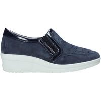 Sapatos Mulher Slip on Enval 7271122 Azul