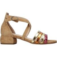 Sapatos Mulher Sandálias Carmens Padova 45060 Castanho