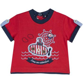 Textil Criança T-Shirt mangas curtas Chicco 09067162000000 Vermelho