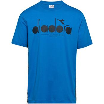 Textil Homem T-Shirt mangas curtas Diadora 502176630 Azul
