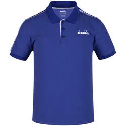Textil Homem Polos mangas curta Diadora 102175672 Azul