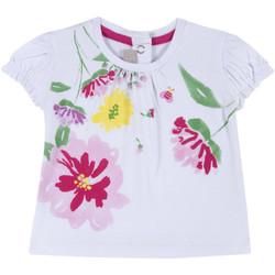 Textil Rapariga T-Shirt mangas curtas Chicco 09067270000000 Branco