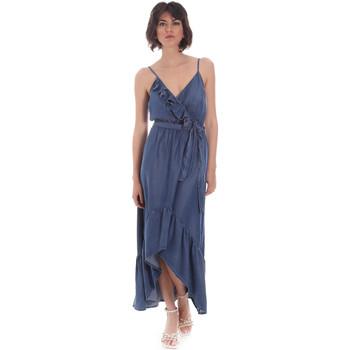 Textil Mulher Vestidos compridos Gaudi 111BD16003 Azul
