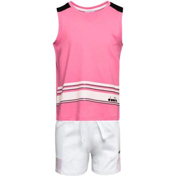 Textil Criança Conjunto Diadora 102175915 Rosa