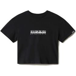 Textil Mulher T-Shirt mangas curtas Napapijri NP0A4EYZ Preto