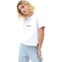 Textil Mulher T-Shirt mangas curtas Dickies DK0A4XBAWHX1 Branco
