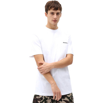 Textil Homem T-Shirt mangas curtas Dickies DK0A4X9OWHX1 Branco