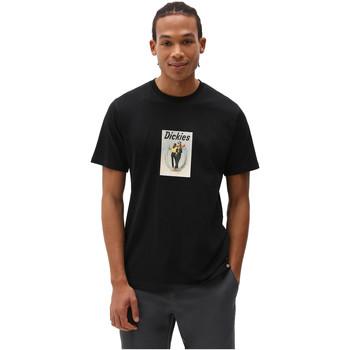 Textil Homem T-Shirt mangas curtas Dickies DK0A4X9IBLK1 Preto