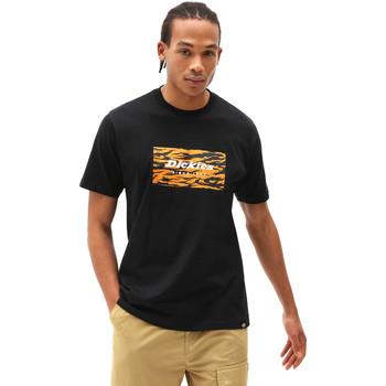 Textil Homem T-Shirt mangas curtas Dickies DK0A4X9JBLK1 Preto