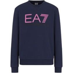 Textil Homem Sweats Ea7 Emporio Armani 3KPME9 PJASZ Azul