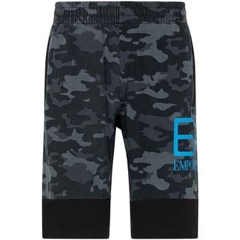 Textil Homem Shorts / Bermudas Ea7 Emporio Armani 3KPS60 PJ5BZ Preto