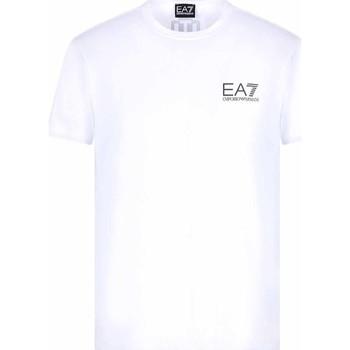 Textil Homem T-Shirt mangas curtas Ea7 Emporio Armani 3KPT06 PJ03Z Branco