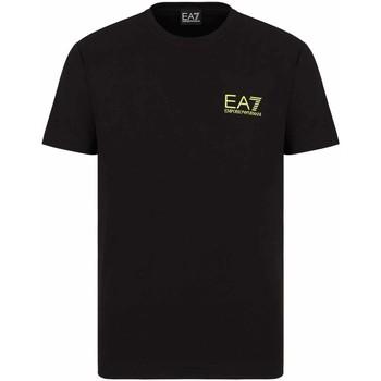 Textil Homem T-Shirt mangas curtas Ea7 Emporio Armani 3KPT06 PJ03Z Preto