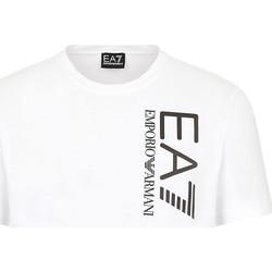 Textil Homem T-Shirt mangas curtas Ea7 Emporio Armani 3KPT10 PJ7RZ Branco