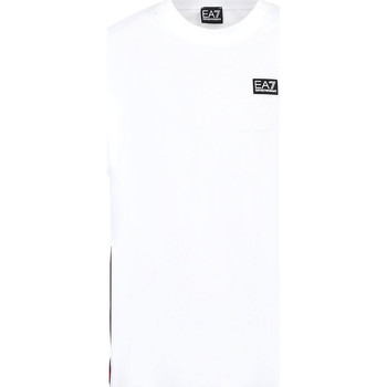 Textil Homem T-Shirt mangas curtas Ea7 Emporio Armani 3KPT13 PJ02Z Branco
