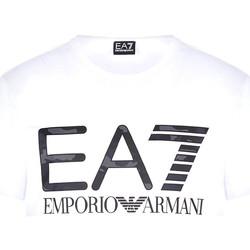 Textil Homem T-Shirt mangas curtas Ea7 Emporio Armani 3KPT27 PJ7CZ Branco