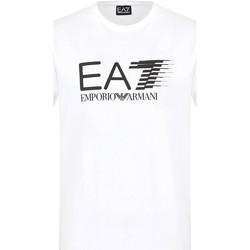 Textil Homem T-Shirt mangas curtas Ea7 Emporio Armani 3KPT39 PJ02Z Branco