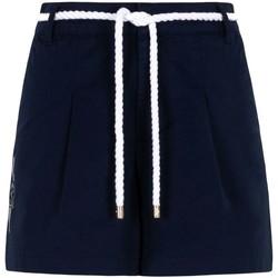 Textil Mulher Shorts / Bermudas Ea7 Emporio Armani 3KTS54 TN3EZ Azul