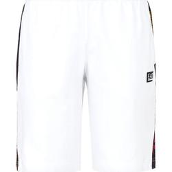 Textil Homem Fatos e shorts de banho Ea7 Emporio Armani 3KPS81 PJ05Z Branco
