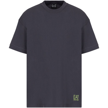 Textil Homem T-Shirt mangas curtas Ea7 Emporio Armani 3KPT58 PJ02Z Cinzento