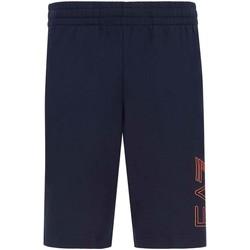 Textil Homem Shorts / Bermudas Ea7 Emporio Armani 3KPS57 PJ05Z Azul