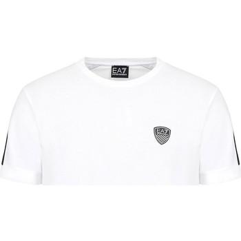 Textil Homem T-Shirt mangas curtas Ea7 Emporio Armani 3KPT56 PJ4MZ Branco
