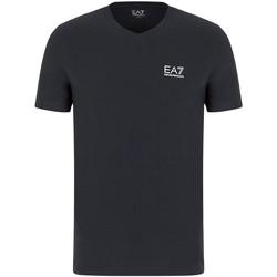 Textil Homem T-Shirt mangas curtas Ea7 Emporio Armani 8NPT53 PJM5Z Cinzento