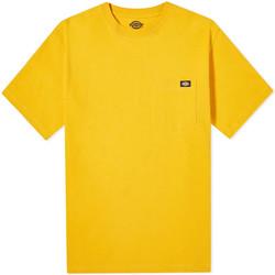 Textil Homem T-Shirt mangas curtas Dickies DK0A4TMOB591 Amarelo