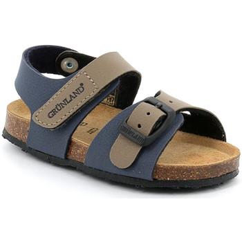 Sapatos Criança Sandálias Grunland SB0372 Azul