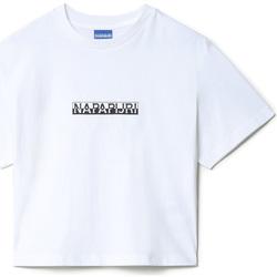 Textil Mulher T-Shirt mangas curtas Napapijri NP0A4EYZ Branco