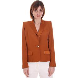 Textil Mulher Casacos/Blazers Cristinaeffe 0306 2545 Castanho